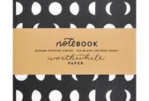 Paper, writing, notebooks