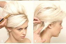 hair how-to's :) / by Dominique Nancy