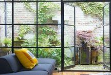 Sun room & living room