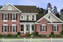 Two story house plans: under 2000 sq ft / by Shelly@The Domestic Heart Blog