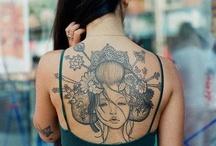 Floral tatoo