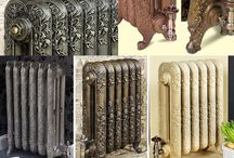 Cast Iron Radiators / Various style and designs of traditional cast iron radiators for domestic home and commercial property. A cool way to heat a home, ideal of Victorian homes to modern designs that needs some character added.
