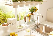 Fensterdeko Küche