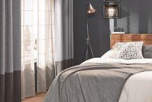 Raamdecoratie / Vitrage, overgordijnen, vouwgordijnen, lamellen, zonwering,