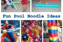 pool noodles / by chasing alexis