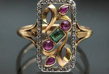 Emerald, Ruby & Diamond / Emerald, Ruby & Diamond Rings & Jewelry