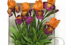цветы / цветы живые и рукотворные