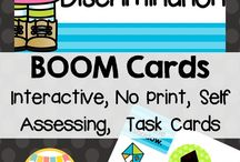 Boom! Special Education Resources / Boom Cards interactive, self-grading teaching resources. Made just for the special education student. Perfect for smart board centers, 1:1, or shared computers. See at a glance how your students did and what they choose for a wrong answer. Intervention made easy. Available for tablets and web. Find materials for students with autism, visual discrimination challenges, sensory sensitivities, and learning disabilities.