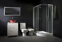 Duchas e hidromasajes / Hidromasajes Ferrum. Baños. Diseño de interiores.