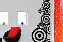 pintura geomètrica interiores