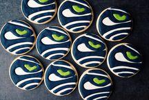 seahawks cookie inspiration
