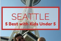 Washington Family Travel / Fun family travel ideas for Seattle and Washington state (see also Oregon Family Travel and Vancouver with Kids boards) ;-) #familytravel #washington #seattle