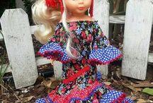 muñecas flamenco