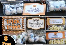 Halloween ideas for kids / Crafts, snacks, party ideas