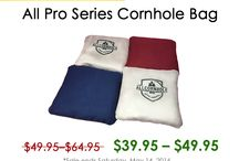 Cornhole Deals / All Cornhole has the largest selection of duck cloth and microsuede cornhole bags available online, with many colors to choose from. We carry standard cornhole bags in a variety of styles: corn filled, weather resistant, RealTree or Mossy Oak camo, dual sided (aka tournament series) or stick-n-slick.