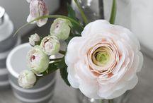 blomster og hage