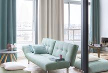 CATCH Curtains & More / Onder de merknaam CATCH introduceert Holland Haag een nieuwe collectie voor jong en modern wonen.