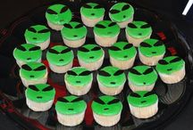 Twins cupcake