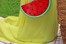 Watermelon Purse / Add a little Sweetness to your outfit with Alex Malay Watermelon  Purse. Our Current Favorite Accessory www.alexmalay.com