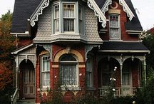 LOVELY HOUSES AND INTERIORS / Pretty houses all over the world