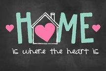 Home Decor Ideas: / A house is made of walls and beams. A home is made of love and dreams.