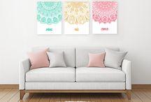 Cuadros Tripticos Modernos / Trípticos modernos para decorar tu hogar