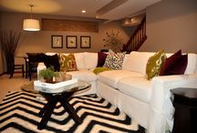 Basement Family Room / by Bonnie Twogood