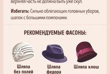 шапки для моего типа лица