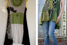 Przeróbki odzieży- ze starego nowe/ upcycling