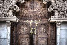 Beautiful Doors / Where do they lead?