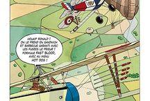 David Voileaux : Extrait BD BISHOT / Présentation de la BD BISHOT,  BD dessinée et scénarisée par David VOILEAUX. Genre : BD humoristique sur les aventures de Pilotes de Chasse de la WW1