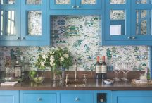 Wallpaper / Give washed out walls some personality with wallpaper that runs the gamut from playful to pedigreed