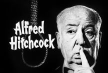 Alfred Hitchcock (1899-1980) / LIfe, times & film of the man behind six decades of thriller movies. And of course, the actors and actresses who starred in the films.  I will be commenting on most of the pins, but it will take time and so do come back.  / by Bluelucy