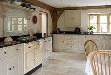 Cozinhas de casa de fazenda modernas