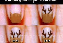 nails natalizie