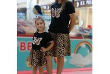 Anne Kız Kombinleri / Anne kız uyumlu giyim, Anne kız kombinleri