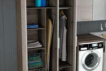 """Urban """"la lavanderia metropolitana"""" / Un nuovo modo di concepire gli ambienti di servizio. Mobili moderni e di design per la lavanderia   - A new way of thinking about laundry room"""
