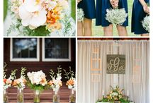 Navy Nuptuals / All things Navy in weddings