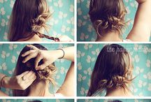 Hair-dos / by Michelle Barneck {A Little Tipsy}