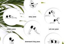 Yoga + stretches