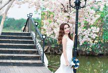 Album hình cưới chụp ở phim trường Green House TPHCM