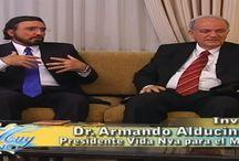 ENTREVISTAS DR. ARMANDO ALDUCIN / Aquí puedes encontrar entrevistas, preguntas y respuestas hechas al Dr. Armando Alducin