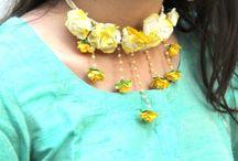 Flower jewellary