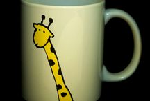 Mugs hand painted