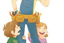 Illustration for the little ones