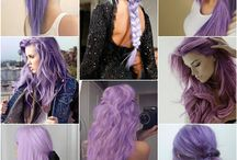 Hair colours and styles
