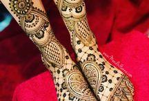 Feet Mehndi
