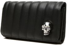 Wallets, Clutches and Coin Bags / Goth Nugoth Psychobilly Horror Wallets Clutches Coin Bags