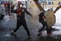 Venezuela'da gösteriler sürüyor