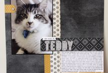 Claire Daly Scrapbook Layouts, Stampin Up & other